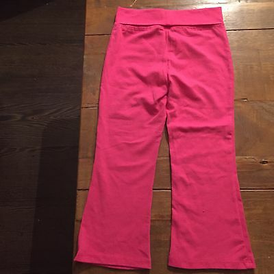Girls Pink Leggings Age 3 . Good Condition.