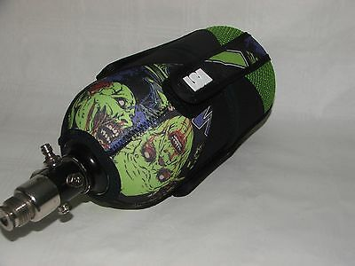Lay Sick Zombie Purple Paintball Bottle Cover