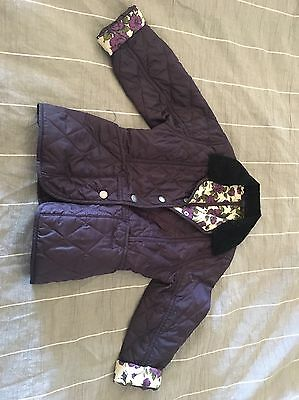 Girls Barbour jacket Size 4-5