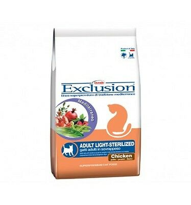 EXCLUSION ADULT LIGHT-STERILIZED 400GR AL POLLO CROCCANTINI cod. 76005671