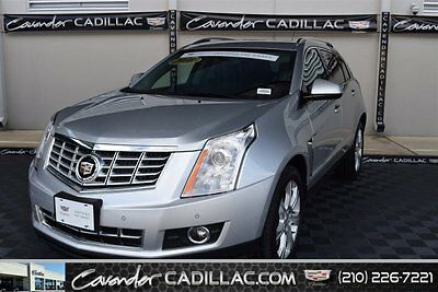 2016 GM Certified Cadillac SRX  2016 Sport Utility Used Gas V6 3.6L/217 6 Leather Silver