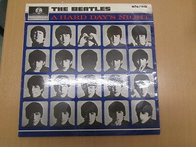 The Beatles A Hard Days Night Lp Uk 1St Stereo Ex+/ex