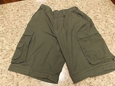 Official Boy Scout BSA Cargo Shorts  Size 30-Relaxed Fit