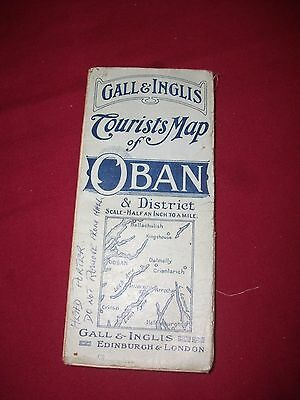 Gall and Inglis Tourists Map of Oban & District