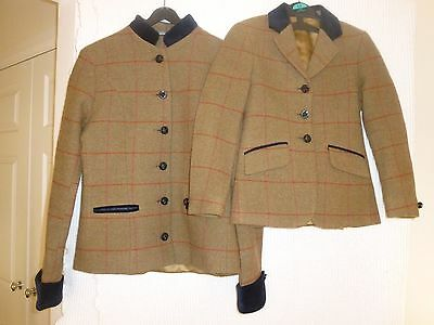 Showing Selection Matching Tweed Jackets - Lead Rein Outfit