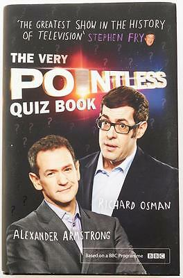 The Very Pointless Quiz Book Hardback Richard Osman Alexander Armstrong