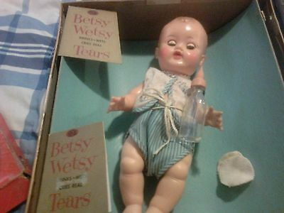 "11"" Ideal Doll - Betsy Wetsy with box plus"