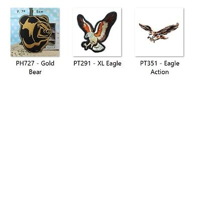 Wild Animals - Sew Embroidery Iron On Patch Badge Clothes Fabric Applique