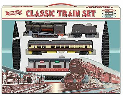 Large Toy Train Set, battery operated, light up head light & 435 cm track TY2
