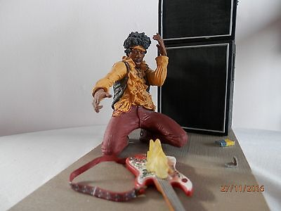 JIMI HENDRIX at  MANTEREY POP FESTIVAL  McFARLANE   FIGURE ON STAND