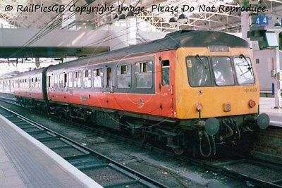 Colour Photo of First North Western Class 101 DMU 101693 @ Manchester Picc 2002