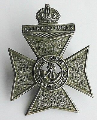 The King's Royal Rifle Corps Cap Badge