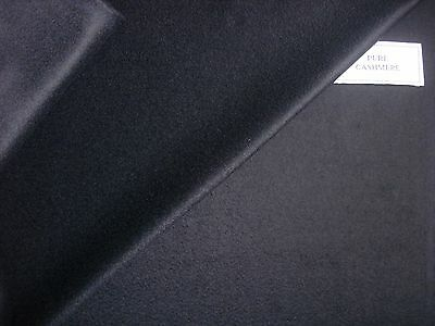 100% CASHMERE JACKETING/SUITING FLANNEL FABRIC MADE IN Italy By Loro Piana- 2.0m