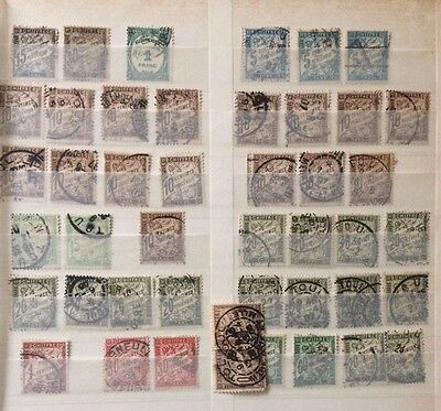 French fiscal, revenue stamps lot