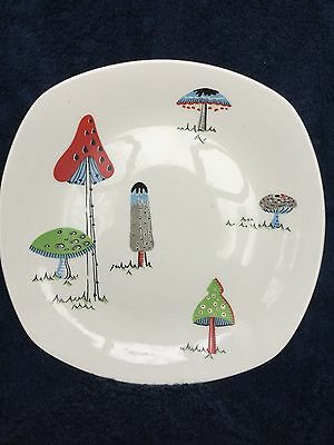 Midwinter Toadstool plate