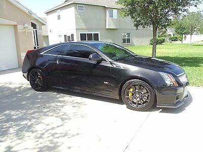 2011 Cadillac CTS  2011 CTS V Coupe