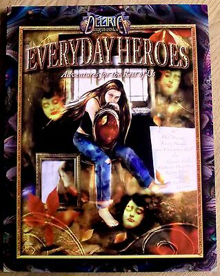 Deliria Sagabooks - Everyday Heroes - Adventures for the rest of us - RPG book