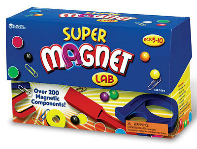 Learning Resources Super Magnet Lab Kit For Kids - Science **New**