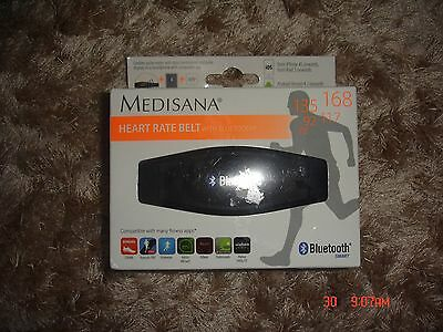 Medisana heart rate belt WITH BLUETOOTH. COMPATIBLE WITH MANY FITNESS APPS