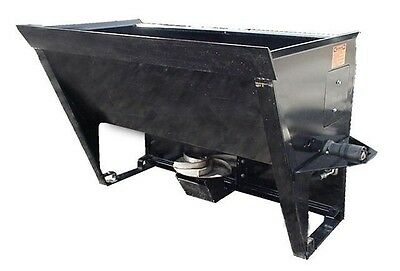 Skid Steer Sand / Salt Spreader Attachment - SS-72 Skid Steer Material Spreader