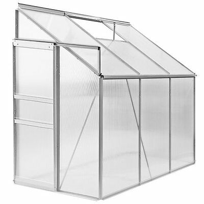 Clear Polycarbonate Greenhouse Plants Vegetable House Grow Aluminium Garden Big