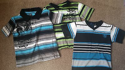 Boys striped shirts size 5 (lot of 3)