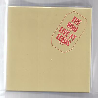 The WHO empty Disk Union Live At Leeds Drawer PROMO box for JAPAN mini lp cd