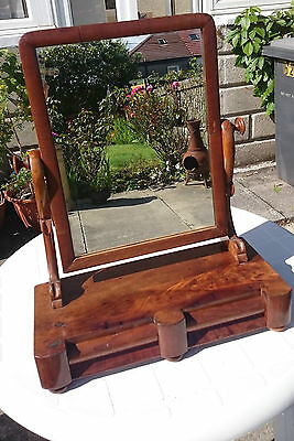 Victorian Dressing Table Mirror On Stand