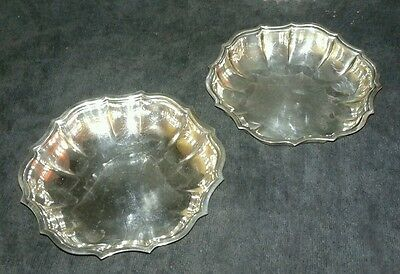 Vintage Chippendale International Silver Company Set of Two Bowls 692