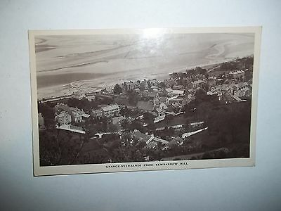 Vintage Postcard.grange Over Sands From Yewbarrow Hill