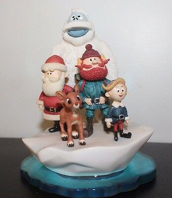 Surrounded By Friends at Christmas Iceberg Scene Rudolph & the Island of Misfit
