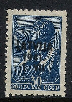 RUSSIA GERMANY OCCUPATION LATVIA WWII Stamps VAR. RARE Collection 3