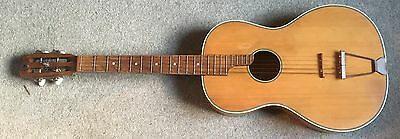 Interesting Five String Guitar - Possibly Converted Tenor?