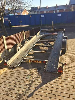 Brian James Trailer 16ft Long with winch Tilt Trailer Car Transporter Recovery