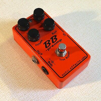 Xotic Effects BB Preamp - Rare Early Model - Gooped Board