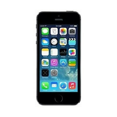 Apple Iphone 5S 4G 16Gb Black (Raum Grey)