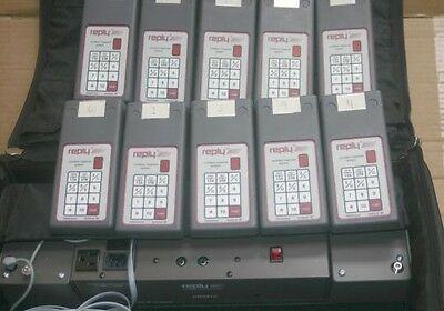 Fleetwood Standard Reply CRS910 Voting Response System w/(10) wireless keypads