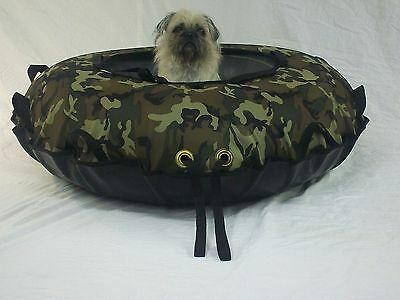 "New 44"" Towable, Commercial Snow Tube. Woodland Camo . Made In The Usa"