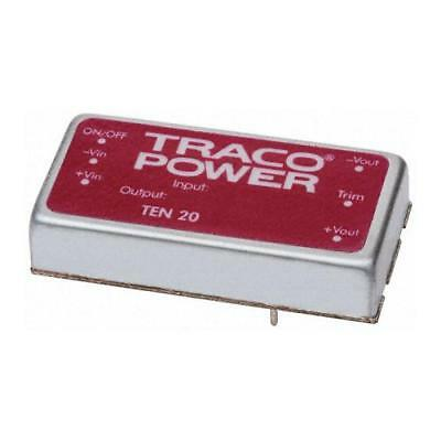 1 x TRACOPOWER Isolated DC-DC Converter TEN 20-4821WIN Vin 18-75V dc Vout ±5V dc