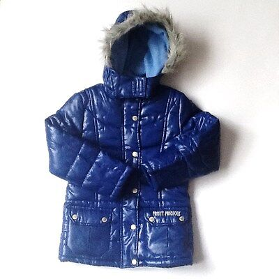 Girls Blue  Jacket Fleece Lined age 8-9  years NBW #461