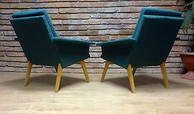 Set of Two Easy Chairs ,Manufactured in Old Czechoslovak Country