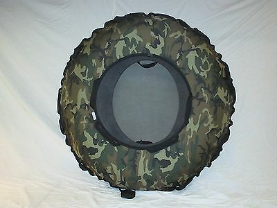 "New 44""  Commercial Snow Tube. Woodland Camo . Made In The Usa"