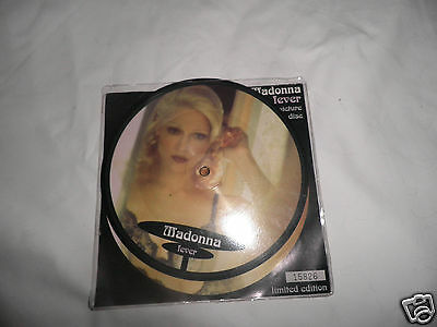 """madonna fever 7"""" picture disc limited edition"""
