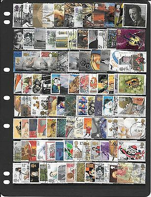 Gb Fine Collection Of Used Stamps Bb066