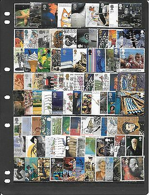 Gb Fine Collection Of Used Stamps Bb052