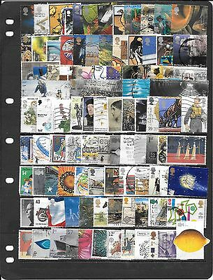 Gb Fine Collection Of Used Stamps Bb067