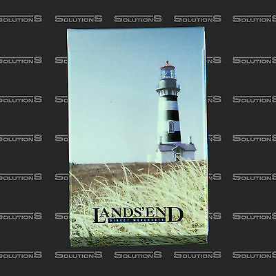 Lands End Promotional Souvenir 40th Anniversary Playing Cards Deck NEW
