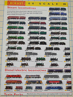 Hornby Product Range 2003 Fold-Out Poster M4273