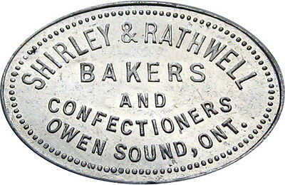 Owen Sound Ontario Canada Good For Token Shirley & Rathwell Baker Loaf Bread