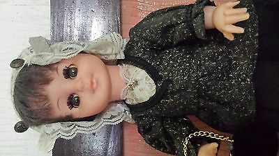 Vintage Dolls in Authentic Dutch Mourning Costume